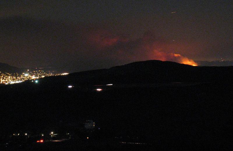 Chino hills fire 9 pm