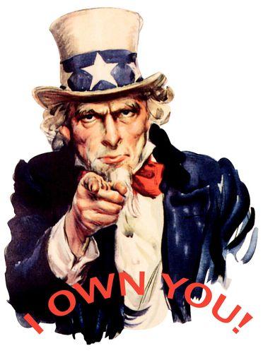 Uncle Sam I own you