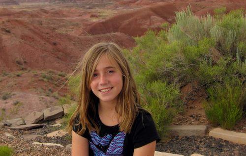 Katie painted desert
