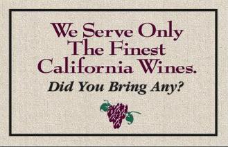 Wine doormat 2