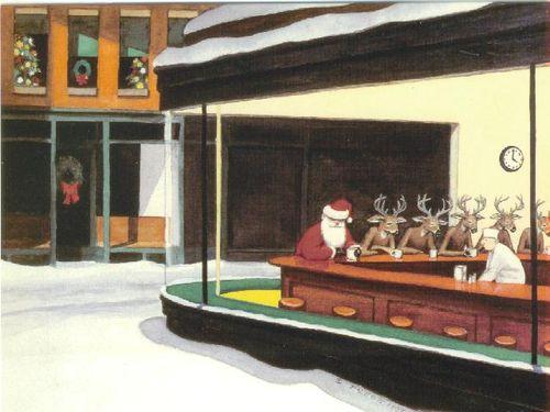 Santa coffee