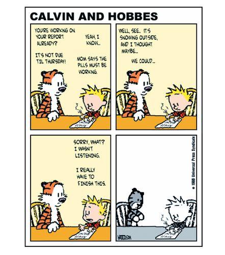 Calvin ritalin