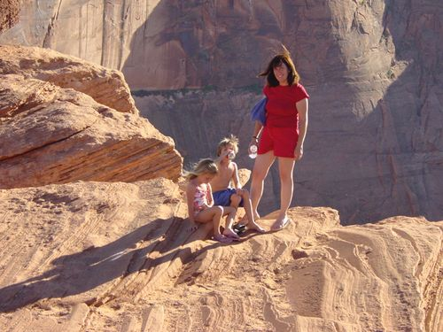 Hike to horseshoe bend