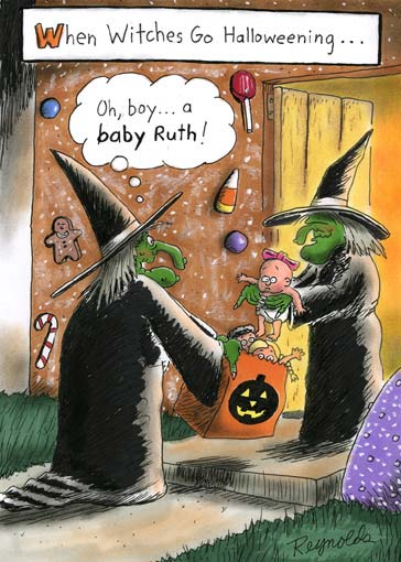 Witches trickortreat