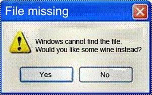 Windows file missing wine (2)
