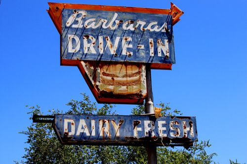 Barbara's drive in