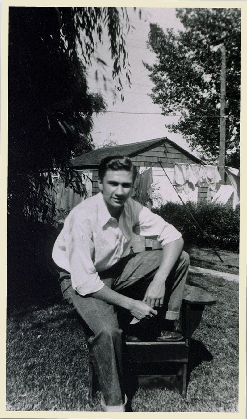 Dad circa 1943