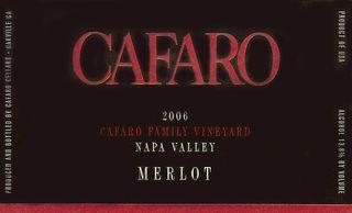 Cafaro merlot 2006