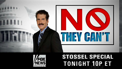 Stossel no they can't