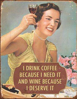 Wine coffee