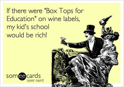 Boxtops for wine