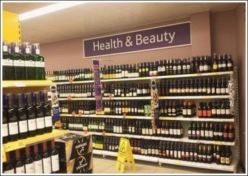 Wine health and beauty