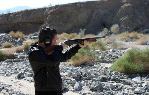 Jake shotgun