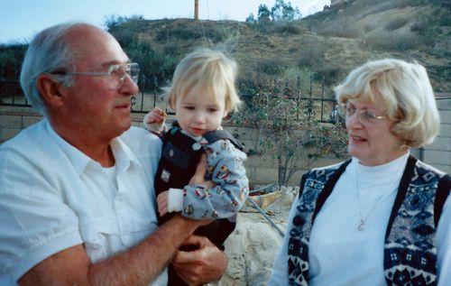 Ron Sue & Jacob circa 1997