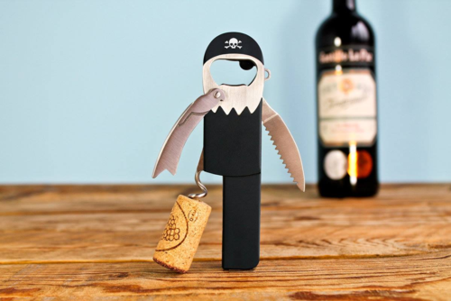 Corkscrew pirate