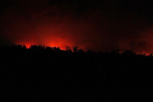 Prado fire