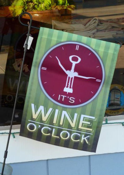 Wine o'oclock