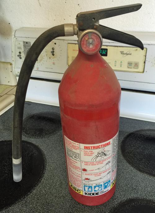 Kitchen fire ext