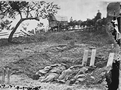 Gettysburg confederate dead