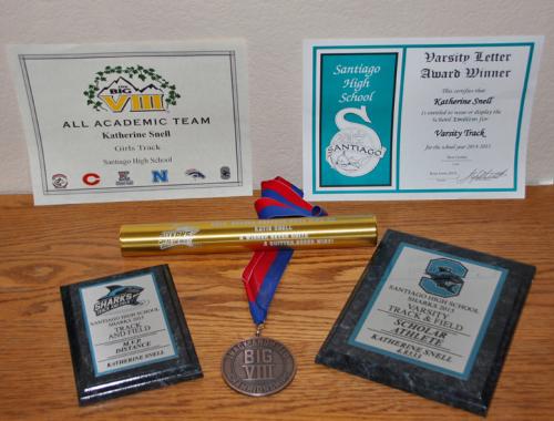Katie track awards