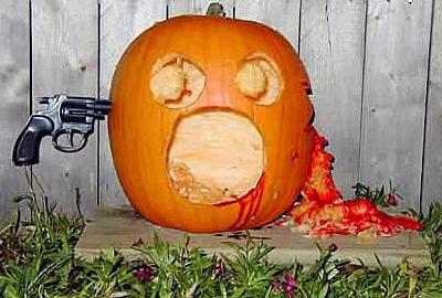 Pumpkin suicide