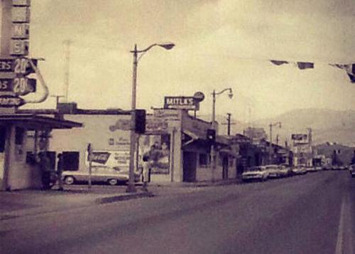 Mitla cafe 1950