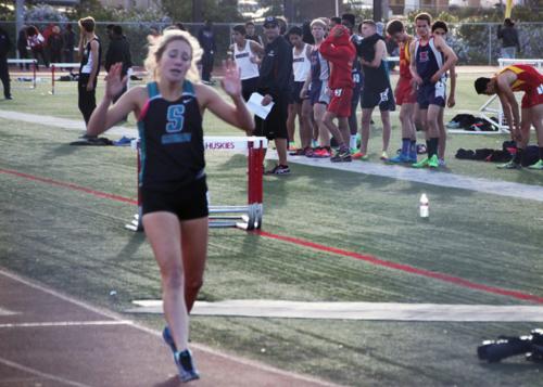 Katie finish