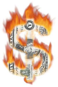 Money20on20fire
